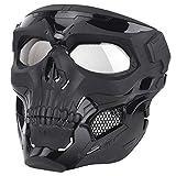 NINAT Airsoft Skull Mask Full Face Tactical...