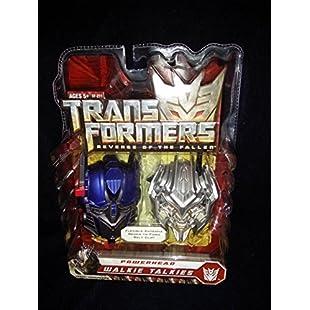 Transformers Powerhead Walkie Talkies - Optimus Prime & Megatron by Kid Designs