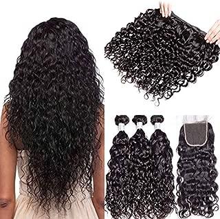 brazilian water wave hair weave
