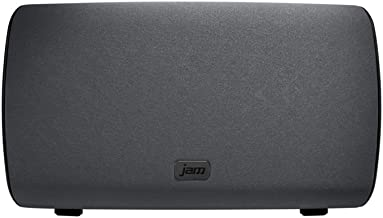 JAM Symphony WiFi Home Audio Speaker with Amazon Alexa Voice Service, Stream Music, Built-in Intercom, Sync up to 8 Speakers for Home Audio, Control Speakers with Smartphone App, HX-W14901 Black