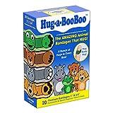 Hug-a-Booboo The Amazing Animal Hugging Kid Bandages 20 Count Box