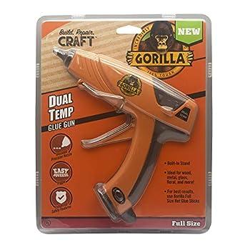 Gorilla 100426 Full-Size Hot Glue Gun Orange