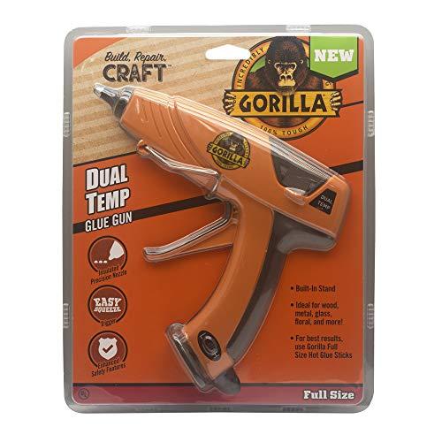 Gorilla 100426 Full-Size Hot Glue Gun, Orang