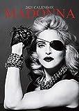 iPosters Set - 2 Artikel - Madonna 2021 Wandkalender - Geschlossene Größe: 42 X 29.5 CM (16.5 x 11.5 Inches) Und Ein Blatt Von 70 Mehrfarbig Selbstklebend Punkte Aufkleber