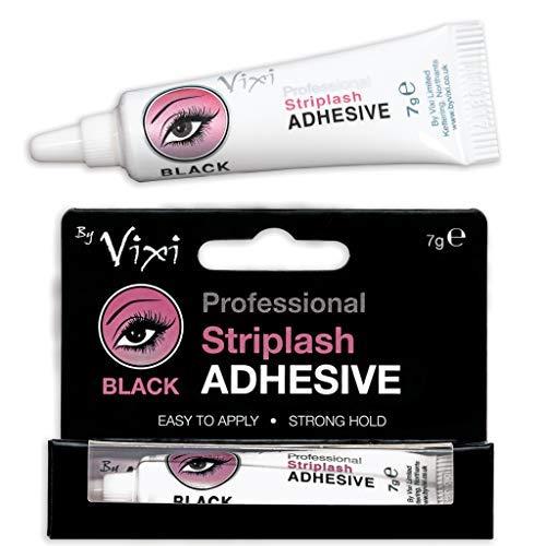 By Vixi PEGAMENTO DE PESTAÑAS Negra 7g ♥ Adhesivo de pestañas rápido y firme ♥ Para todo el día