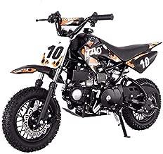 X-PRO 110cc Dirt Bike Pit Bike Youth Dirt Pit Bike 110 Dirt Pitbike,Orange