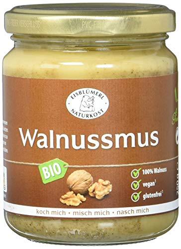 Eisblümerl Bio Walnussmus, 2er Pack (2 x 250 g)