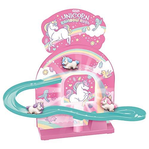 Schylling Unicorn Rainbow Rush, Pink