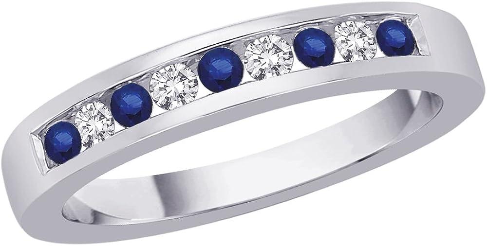 KATARINA 10K White Gold Over item handling 1 6 4 Alternating New Orleans Mall Diamond with ct.