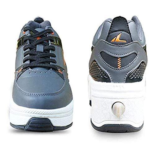 Wedsf 2-in-1 Quad Rolls Deformation schoenen multifunctionele inline skate dames heren outdoor sports laarzen 42