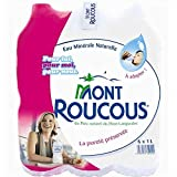 MONT ROUCOUS - Eau Minérale 6X1L - L'unité - Offre Special