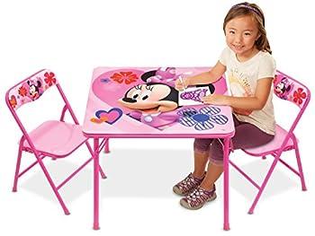 Jakks 42928 Minnie Activity Table Set with 2 Chairs