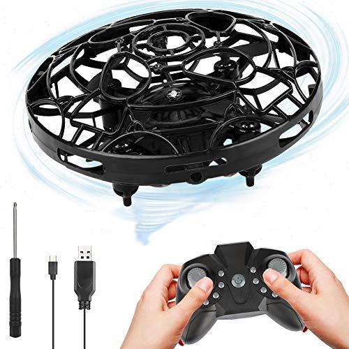Etmury Mini UFO Drone Ricaricabile Mini Drone con Luci a LED Rotazione di 360° Mini Quadricottero Motion Hand Controllato Drone per Bambini RagazzoRagazza Interno Esterno