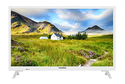 Telefunken XH24J101-W 60 cm / 24 Zoll Fernseher (HD ready, Triple-Tuner) [Modelljahr 2021]