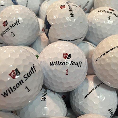 100Wilson DX2DX3pelotas de golf recuperadas de lagos Mix Competición Calidad AAA/AAAA