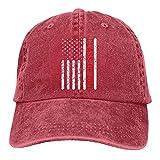 Bradioni Clase de 2021 Graduación Atrapado Bandera Americana Unisex Deportes Denim Cap Baseball Hat Vintage Ajustable Sombrero de Vaquero