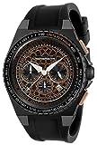Technomarine Men's Technocell Stainless Steel Quartz Watch with Silicone Strap, Black, 26 (Model: TM-318071)