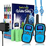 Wishouse Rechargeable Walkie Talkies for Kids with Charger Battery,Family Two...