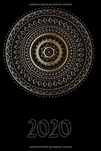 2020: Mein Terminplaner 2020 mit Seitenweise Leben | Terminplaner | Wochenkalender | Monatskalender für 2020 im praktischen Taschenformat | Motiv Mandala