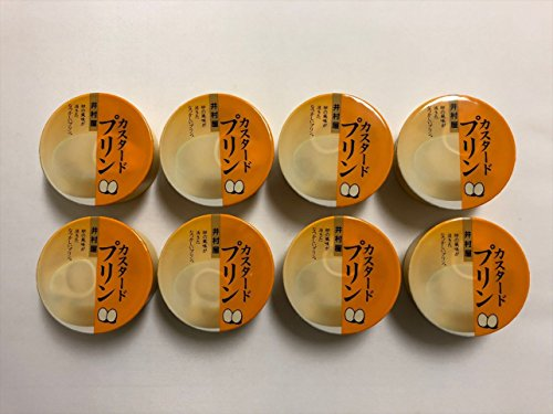 井村屋 缶カスタードプリン75g