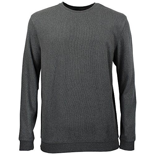 Kitaro Sweatshirt Sweat Shirt Pulli Herren Baumwolle Rundhals Extra Lang Tall, Farbe:dunkelgrau, Herrengrößen:3XT