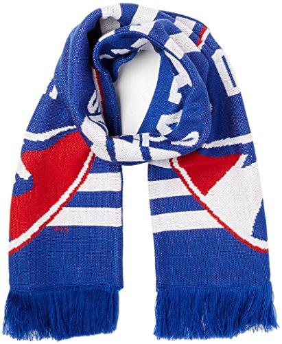 adidas MLS Fc Dallas 1st Kick Jersey Hook Jacquard Scarf, One Size, Blue