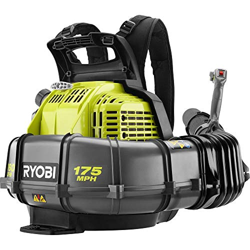 Ryobi 175 MPH 760 CFM 38cc 2-Cycle Gas Backpack Leaf Blower with Variable Speed Trigger
