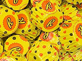 Reese's Peanut Butter Cups Miniatures Stuffed with Reese's Pieces, (Pack of 2 Pounds)