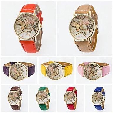 XKC-watches Relojes de Mujer, 2.016 PU Banda Nueva Llegada de la Alta...