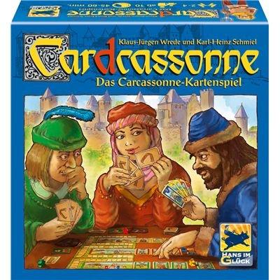 Hans im Glück 48205 - Car(d)cassonne, Kartenspiel