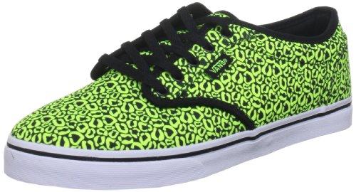 Vans Vans Atwood Low VNJO7IJ, Damen Skateboardschuhe, Gelb (Neon Yellow/Black), 40,5 EU / 7 UK