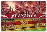 Ultras Freiburg Bild auf PVC Plane / PVC Banner inkl Ösen, Maße: 120x80 cm