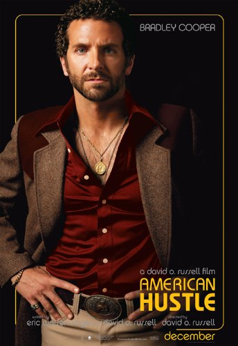 World Mall Group American Hustle (2013) 24X36 Movies Poster (Thick) - Christian Bale, Amy Adams, Bradley Cooper