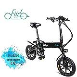 FIIDO D1 14 Pouces Vélo électrique Pliant, vélo électrique à Batterie au Lithium 250W 7.8Ah / 10.4Ah avec lumière LED Avant pour Adulte