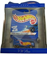 Hot Wheels 30th Anniversary Commemorative Replica 1996 First Editions VW Bus Blue [並行輸入品]