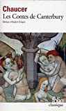 Les Contes De Canterbury (Folio (Gallimard)) by Geoffrey Chaucer(2000-11-11) - Gallimard - 01/01/2000