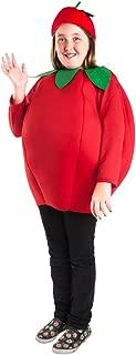 Child Tomato Costume (Size: Medium 8-10)