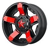 Red XD Series XD811 Rockstar 2 Inserts For 14x7 +0 ATV Wheel