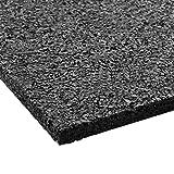 Floordirekt PRO Antivibration Schutzmatte - Gummigranulat - 60x60x2cm - für alle Böden und viele...