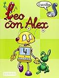 Leo con Álex 4. Escribo (Leo con Alex) - 9788424182656