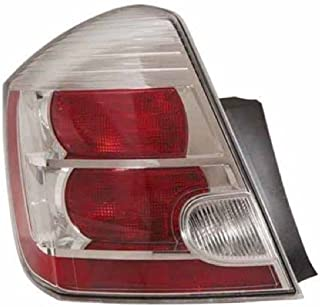 Go-Parts - OE Replacement for 2010 - 2012 Nissan Sentra Rear Tail Light Lamp Assembly / Lens / Cover - Left (Driver) Side - (Base Model + S + SL) 26555-ZT50A NI2800187 Replacement For Nissan Sentra