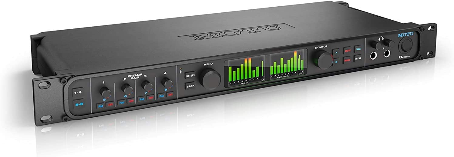 Motu 8Pre-es Professional Interface 5 ☆ popular Regular store Audio Multichannel