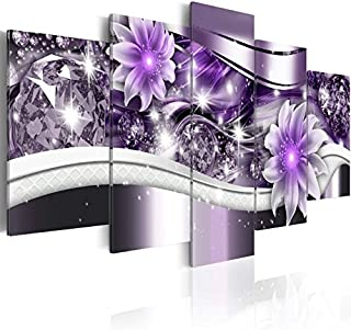 Best abstract purple flowers Reviews
