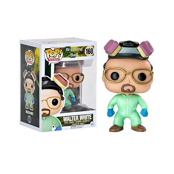 Breaking Bad Walter Blanco Verde Recetas Compatible Pop! Figura De Vinilo - Entertainment Tierra Exclusivo por Funko 1