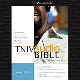 TNIV Audio Bible audiobook cover art