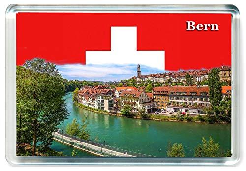 J609 Bern Jumbo Calamita da frigo - Magnete da Frigorifero Svizzera - Switzerland Travel Fridge Magnet