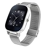 ASUS ZenWatch 2 Android Wear Smartwatch - 1.45', Silver case with...