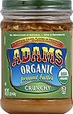 Adams Organic Crunchy Peanut Butter, 16 Ounces