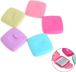Cuigu - Scatola portaoggetti, portatile, per tamponi igienici femminili, color caramella (Confezione da 1)