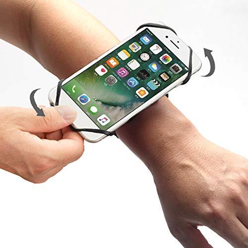 Znwiem - Brazalete deportivo universal de calidad para todos los smartphones de 4 a 6 pulgadas, rotación de 360 grados
